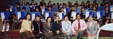 山田中学校吹奏楽部を支援